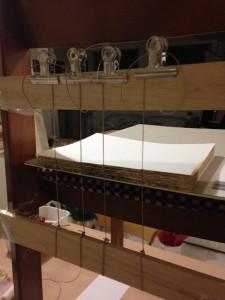 Sewing frame