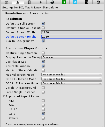 Managing Screen Resolution and Aspect Ratio in Unity 3D | A